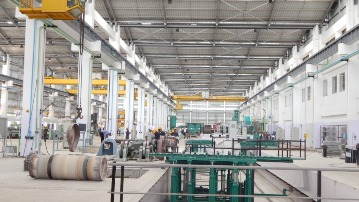 centrifugal casting manufacturing facility