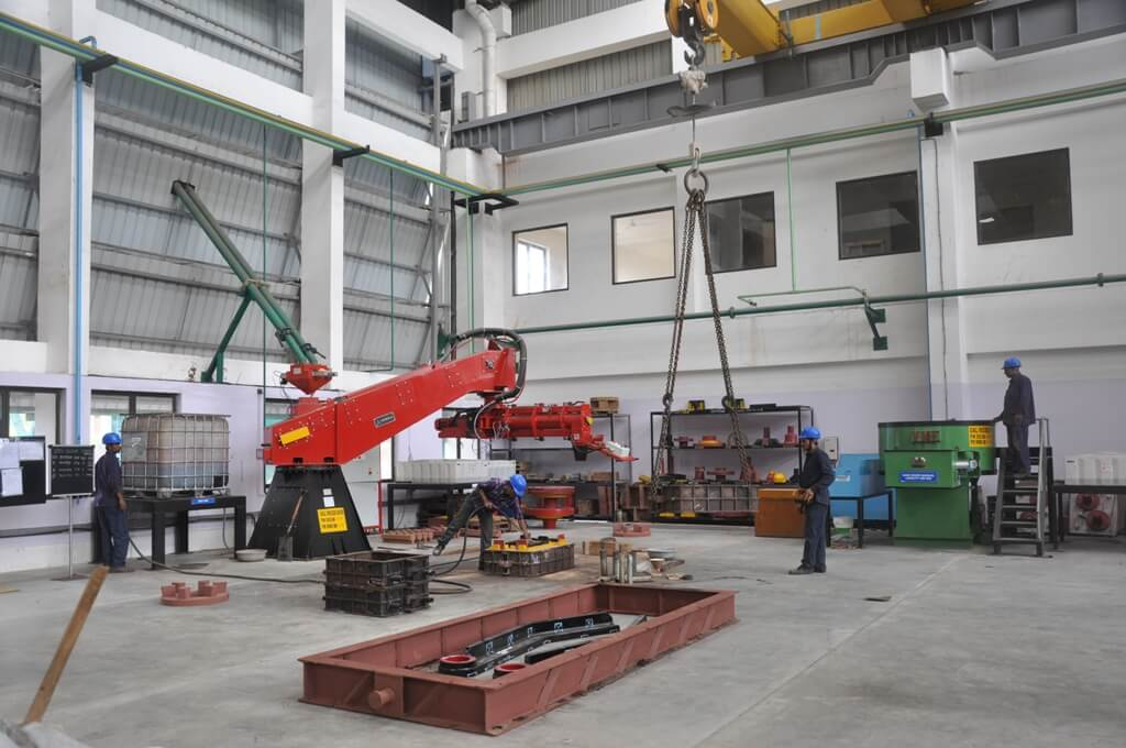 Static Castings manufacturing
