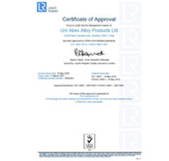 LRQA Certificate ISO 14001:2015 and OHSAS 18001:2007